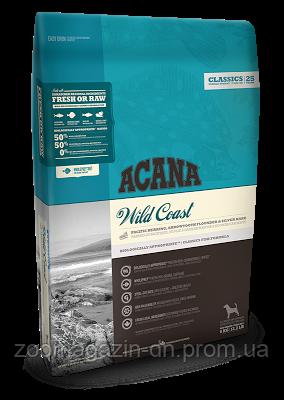Cухой корм Acana Wild Coast для собак всех пород и возрастов, на основе рыбы, 17 кг