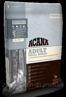 Cухой корм Acana Adult Small Breed для взрослых собак малых пород 2 кг