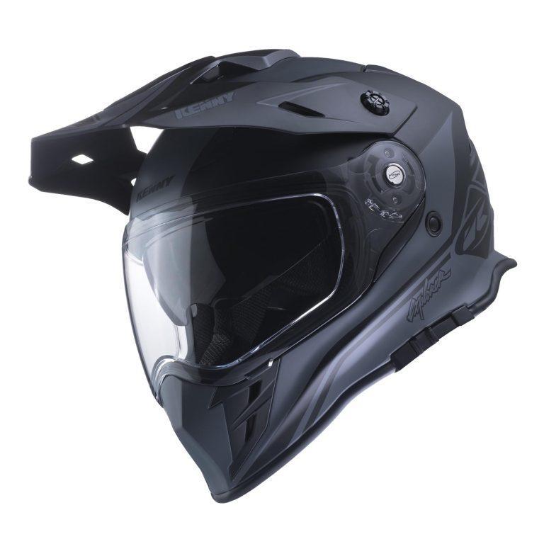 Шлем кроссовый Kenny Explorer 2017 Black Matt