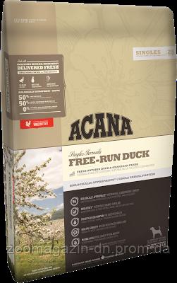 Cухой корм Acana Free-Run Duck для собак всех пород и возрастов с мясом утки, для чувствительного пищеварения 2 кг