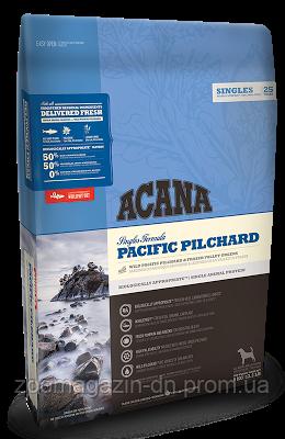Cухой корм Acana Pacific Pilchard для собак всех пород и возрастов, для чувствительного пищеварения, с рыбой 11,4 кг