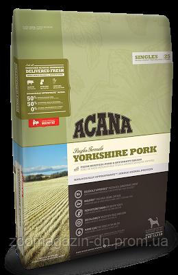 Cухой корм Acana Yorkshire Pork для собак всех пород и возрастов, для чувствительного пищеварения, на основе свинины, 2 кг