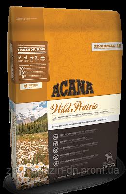 Cухой корм Acana Wild Prairie Dog для собак всех пород и возрастов, на основе цыпленка и рыбы, 0,340 кг