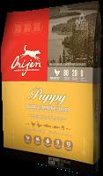 Orijen Puppy Сухой корм для щенков малых и средних пород на основе цыпленка, индейки и рыбы, 340 г