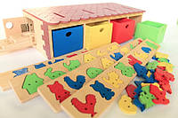 Будинок з фігурками-вкладками, фото 1