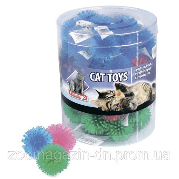 Karlie-Flamingo Hedgehog Balls КАРЛИ-ФЛАМИНГО МЯЧ игрушка для кошек, латекс, цена за 1 шт, 3,5 см (24/пач).