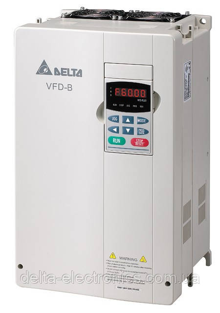 Преобразователь частоты Delta Electronics, 15 кВт, 460В,3ф.,векторный, общепромышленный,VFD150B43A