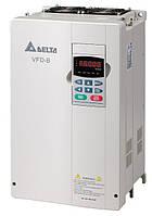 Преобразователь частоты Delta Electronics, 18,5 кВт, 460В,3ф.,векторный, общепромышленный,VFD185B43A