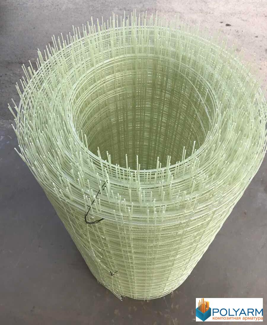 Склопластикова сітка Розміри 50х50 мм d 2мм