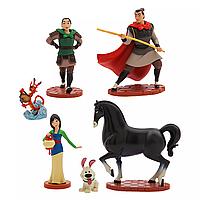 Игровой набор с фигурками Мулан Дисней Mulan Figure Play Set