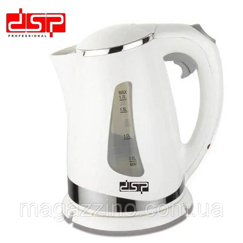Электрический чайник DSP KK-1110, 1.7л, 1850 Вт.