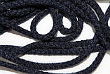Шнур круглый 6мм акрил 100м темно синий, фото 2