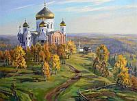 Картина по номерам Церковь 40x50 см в коробке Вектор RSB8182
