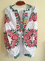 Вишиванка в стилі Бохо хрестиком (машинна вишивка) 48, фото 1