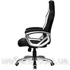Компьютерное детское кресло Barsky SD-16 Sportdrive Game Black/Whit, черный / белый, фото 3