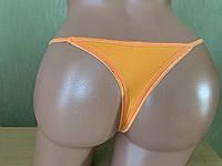 Трусы женские оранжевого цвета Стринги (размер S), фото 1