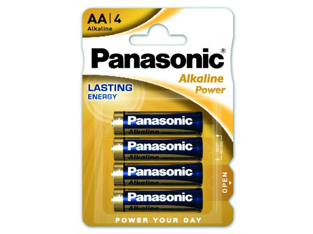 Батарейка Panasonic ALKALINE POWER AA BLI 4