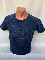 Футболка мужская варенка Regata, накатка стрейч коттон CLASS 002 \ купить футболку мужскую оптом