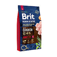 Brit Premium Dog  Adult L для взрослых собак крупных пород 8 кг
