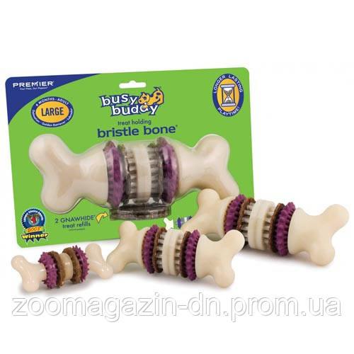 Premier БРИСТЛ БОН (Bristle Bone) игрушка для зубов c лакомством, XS, для собак до 5 кг.