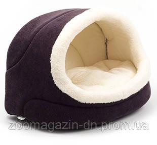 Домик для кота «Комфорт» 42х28х27 см, коричневый