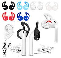 Амбушюры (накладки) для Apple iPhone EarPods Airpods спортивные, разные цвета