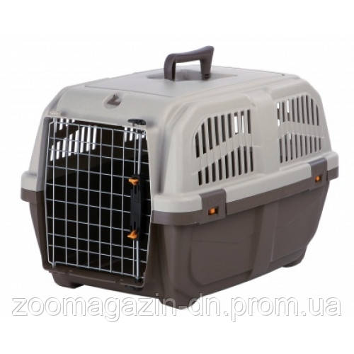 Переноска для собак TRIXIE - Skudo 1, 30 x 32 x 49 см , серо-коричневый  до 12кг