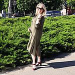 Платье 2020 лен нейлон, оверсайз Бохо. 50-56, фото 6