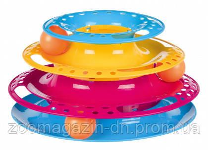 Игрушка-трек с шариками для кота TRIXIE (пластик) 25см/13см