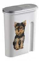 CURVER® PET LIFE контейнер для корма  собак и кошек  малый (объем 1,5 л )