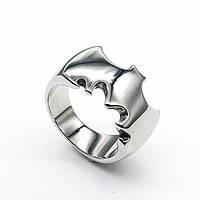 Кольцо из медицинской стали мужское Бэтмен 175941, фото 1