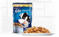 Консервы  для кошек FELIX Fantastic (Феликс) с курицей в желе, 100 гр