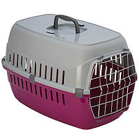 Moderna МОДЕРНА РОУД-РАННЕР 2 переноска для собак с металлической дверью, 58х35х37 см , ярко-розовый.