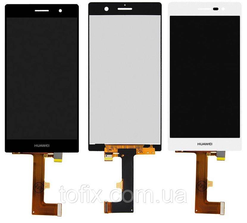 Дисплей для Huawei Ascend P7 (P7-L10), Sophia-L10, модуль в сборе (экран и сенсор), оригинал