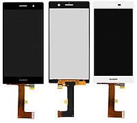 Дисплей для Huawei Ascend P7 (P7-L10), Sophia-L10, модуль в сборе (экран и сенсор), оригинал, фото 1