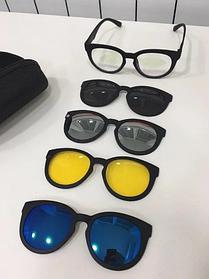 Магнитные очки солнцезащитные универсальные Magic Vision 5 в 1