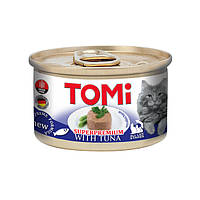 TOMi Tuna ТОМИ ТУНЕЦ, консервы для котов, мусс, 0,085 кг