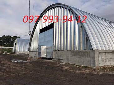 Ангары арочные и склады, зернохранилища
