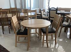 Обідній стіл в скандинавському стилі Женова 900 нерозкладний GOOD WOOD , покриття масло