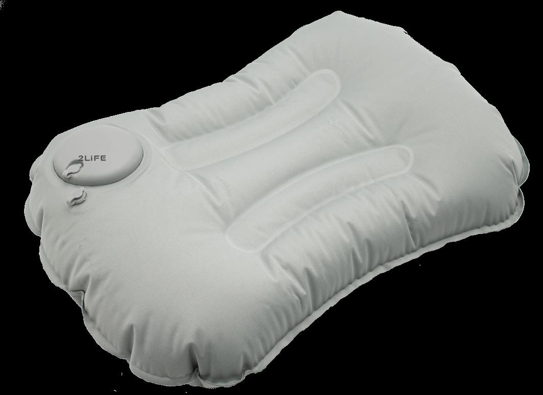 Дорожная подушка 2Life RH-35 Серая (n-227)