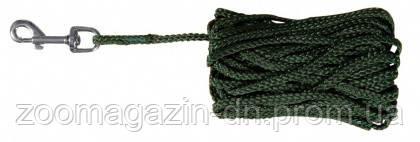 Поводок для собак TRIXIE  5м/5мм,  зеленый