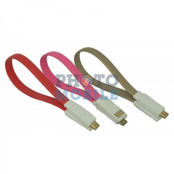 Кабель USB магнит (цвета в ассортименте)