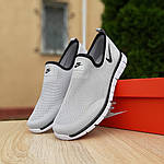 Мужские летние кроссовки Nike (серые) 10153, фото 4