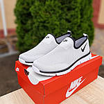 Мужские летние кроссовки Nike (серые) 10153, фото 7