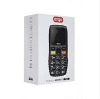 Мобильный телефон бабушкофон Ergo F184 Respect Dual Sim Black, фото 1