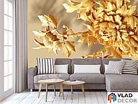 Фотообои 3D хризантема по Вашим размерам