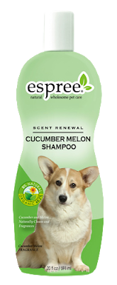 ESPREE Превосходный шампунь из огурца и дыни для собак и кошек Cucumber Melon Shampoo 3,79 л