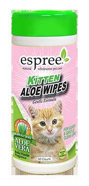 ESPREE Салфетки не раздражающие глаза Kitten Wipes 50шт