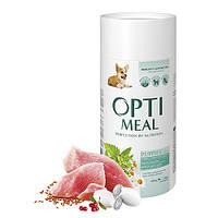 OptiMeal (Оптимил) сухой корм для щенков всех пород с индейкой 0,65 кг