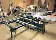 Rema DMMD-40/340 форматный станок б/у, каретка 3 метра, наклон пил (Польша 04г.в.)+стружкопылесос